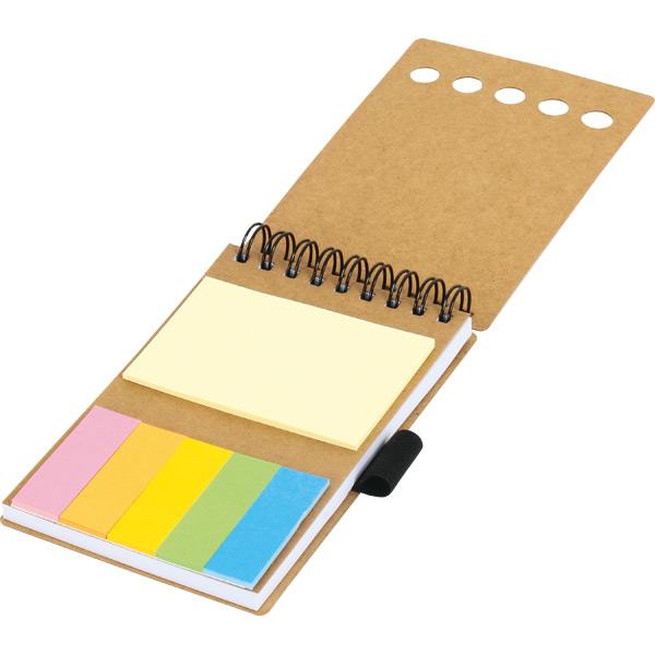 GD-012 Renkli Yapışkanlı Notluk